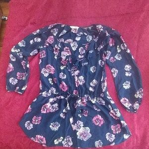 Rebecca Taylor silk blouse.